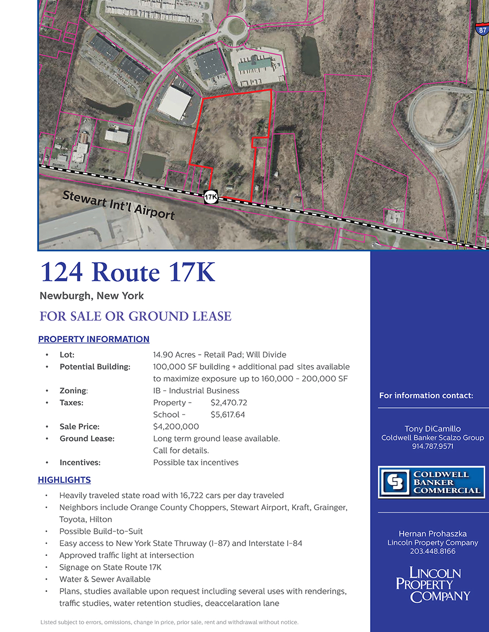 124 Route 17K Land Factsheet_Page_1